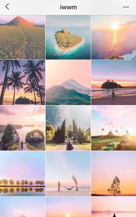 cute instagram feeds pastel instagram theme