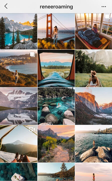dreamy instagram theme instagram theme ideas