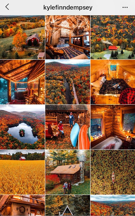 Good Instagram Feed Ideas Fall Theme