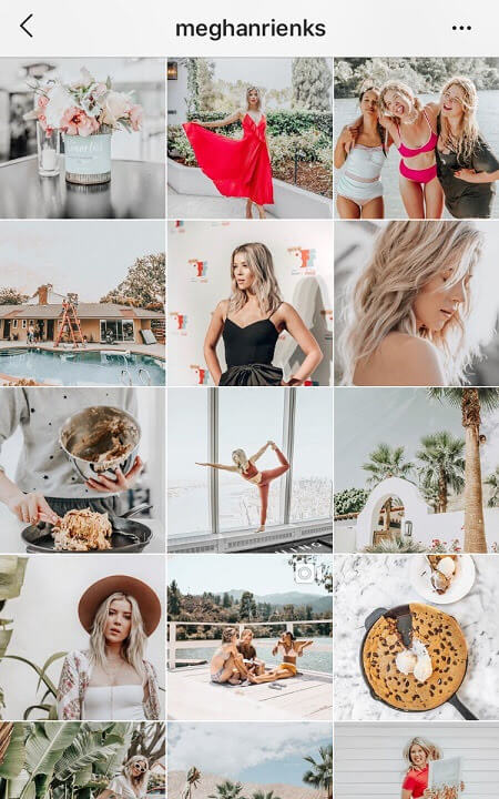 good instagram themes clean instagram feed