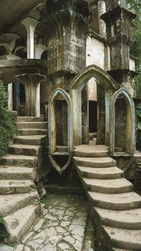 hidden gems in mexico edward james surrealist garden las pozas xilitla