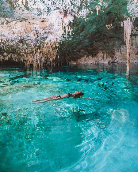 hidden gems in mexico tak be ha cenote tulum