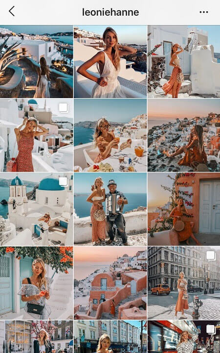 ig feed goals eclectic instagram theme