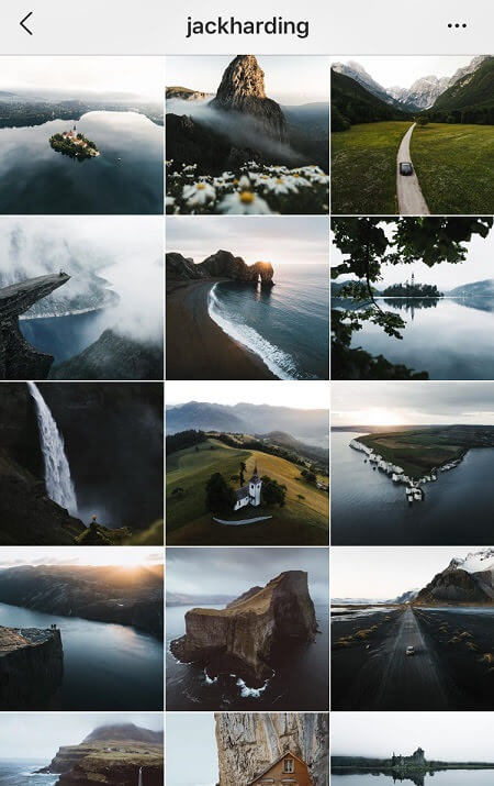ig goals dark instagram feed