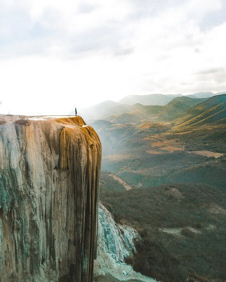 incredible mexico landmarks hierve el agua