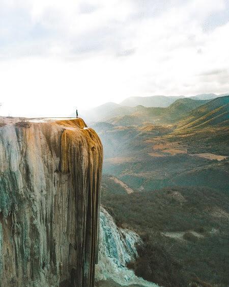 incredible mexico landmarks hierve el agua