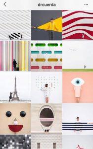 instagram aesthetic ideas geometric instagram theme