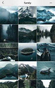 instagram theme ideas dark blue instagram theme