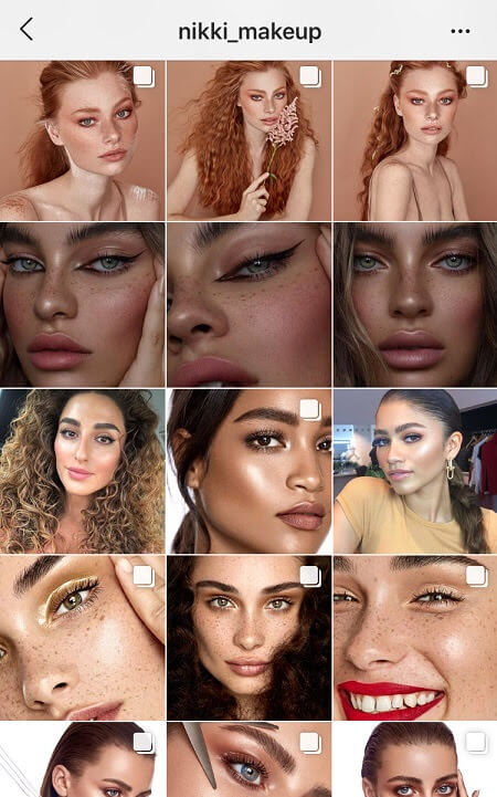 new theme instagram makeup instagram theme