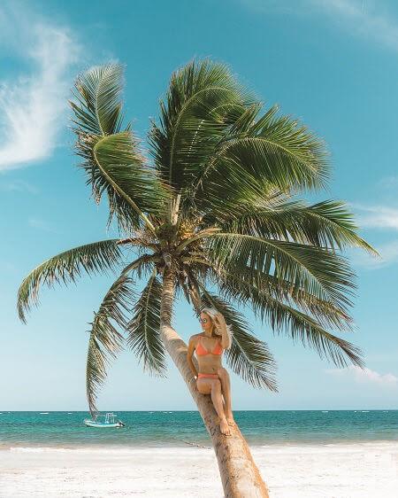 non touristy beach towns in mexico tulum