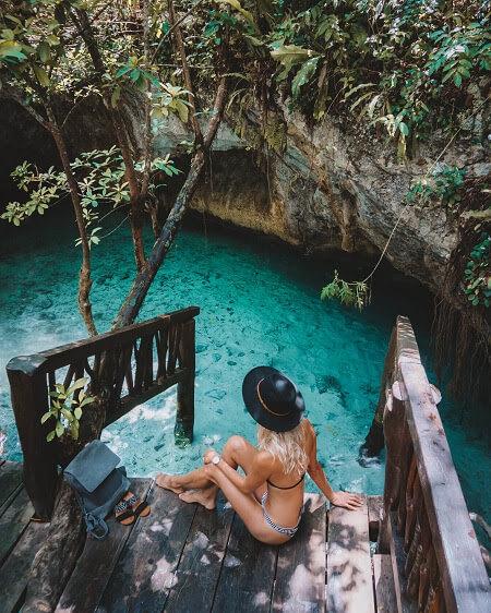 Gran Cenote Tulum Riviera Maya Yucatan Mexico