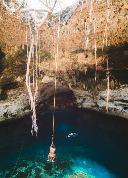 Yaxbacaltun cenote best cenotes in yucatan mexico