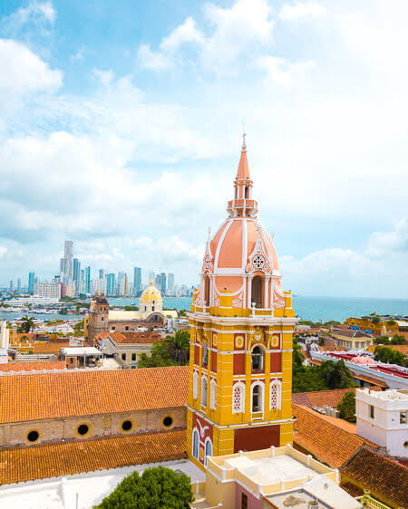 Things To Do Cartagena Colombia Cathedral De Santa Catalina De Alexandria