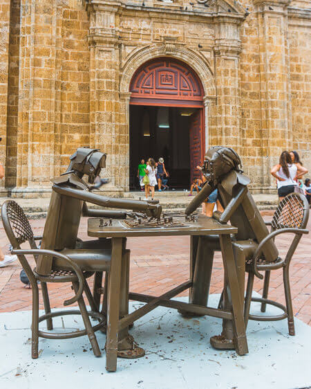 Things To Do Cartagena Colombia Iglesia De San Pedro Claver