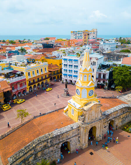 Things To Do In Cartagena Colombia Monumento Torre Del Reloj Clock Tower Monument