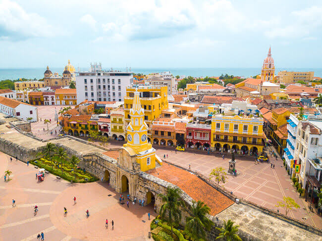 top things to do in cartagena colombia Walled City