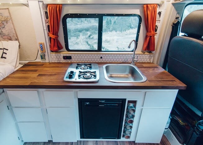 van life tips living in a converted van