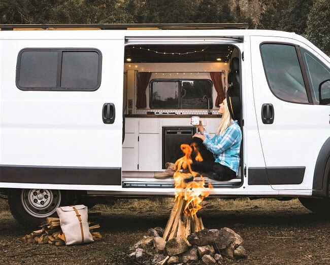 van life tips living in a van