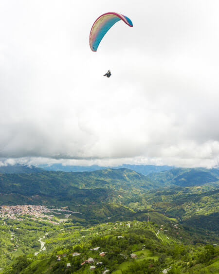 Top Things To See And Do In Colombia Paragliding At Cocorna Mirador