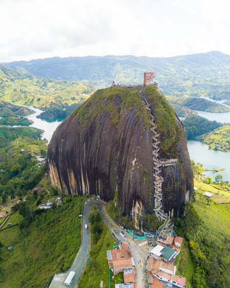 Top Things To See And Do In Colombia Penol rock