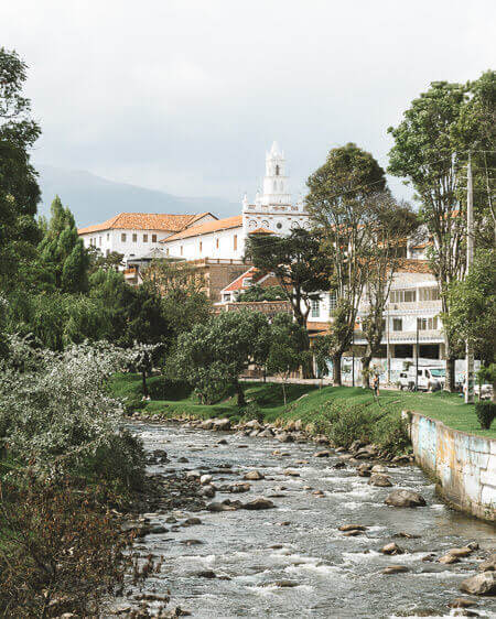 Things To Do In Cuenca Ecuador River Tomebamba Todos Santos Church