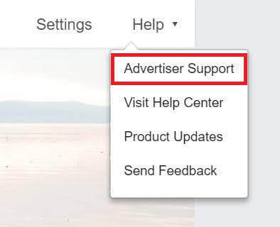 how to report hacked instagram account facebook advertising support