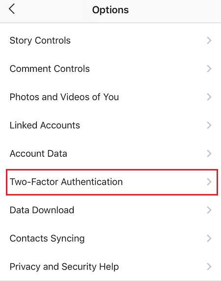 how to turn on two factor authentication for instagram 2FA 2FAC