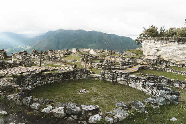 Kuélap Archelogical Site Chachapoyas North Peru