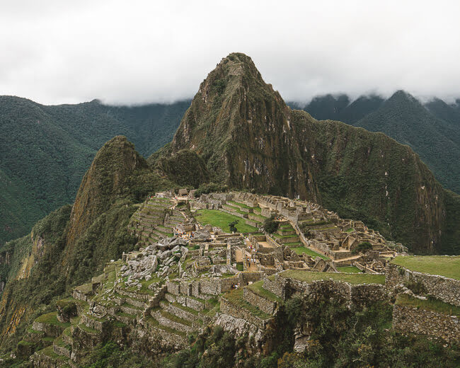 travel guide to visiting machu picchu in Peru