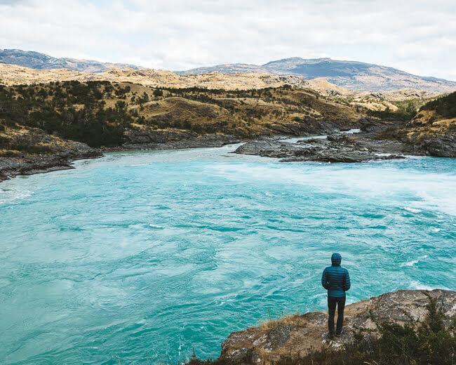 Confluencia Rio Baker Y Neff Ruta Austral Chile