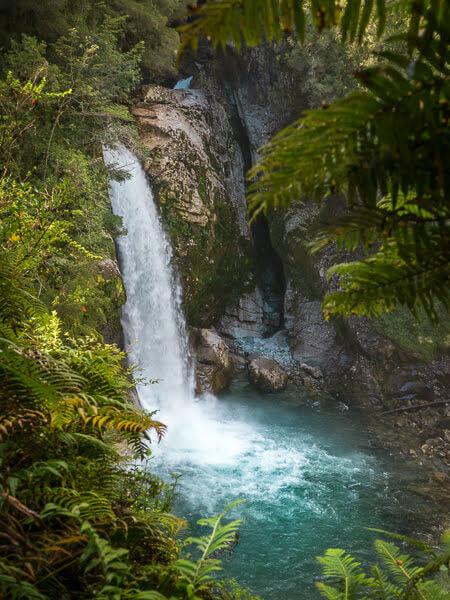 Sendero Padre Garcia Waterfall Ruta Austral Guide Chile