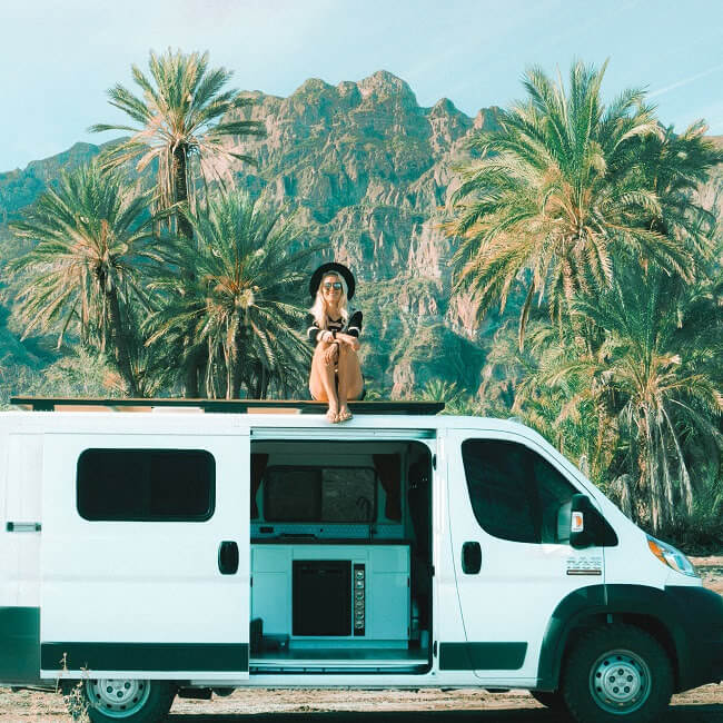 tips for living and traveling in a campervan full time