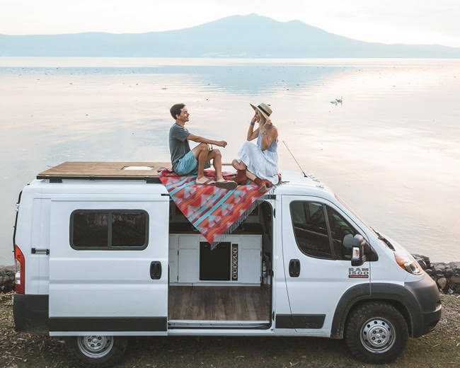 tips for traveling in a campervan