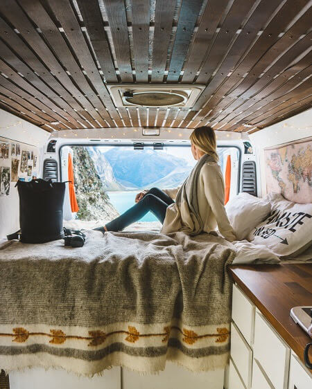 what we learned from traveling in a campervan