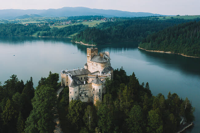 Niedzica castle Dunajec castle Nedec castle Things To Do In Malopolska Lesser Poland Voivodeship Southern Poland