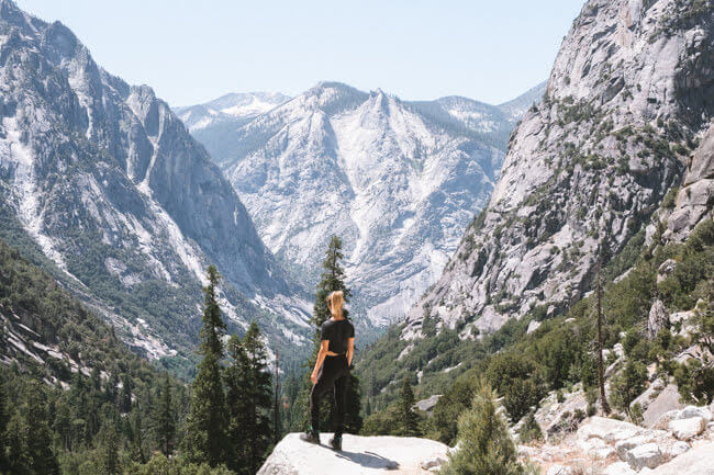 best hikes to do at kings canyon national park paradise valley trail