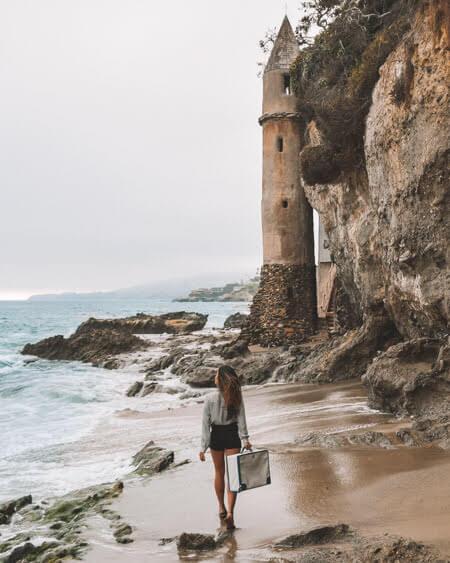 Best beaches in Southern California Victoria Beach In Laguna Beach