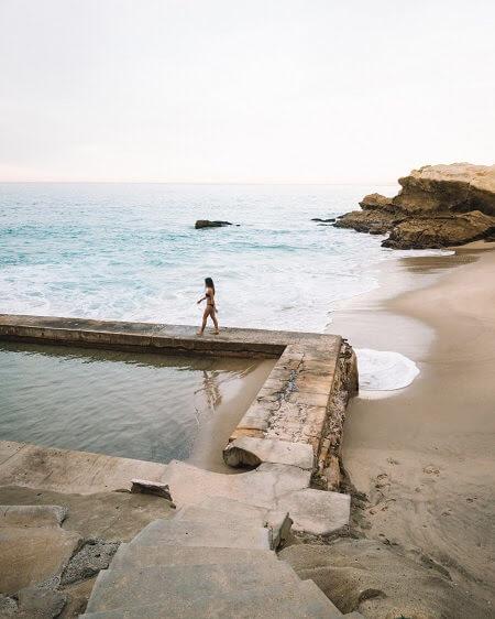 Southern California beaches 1000 Steps Beach In Laguna Beach