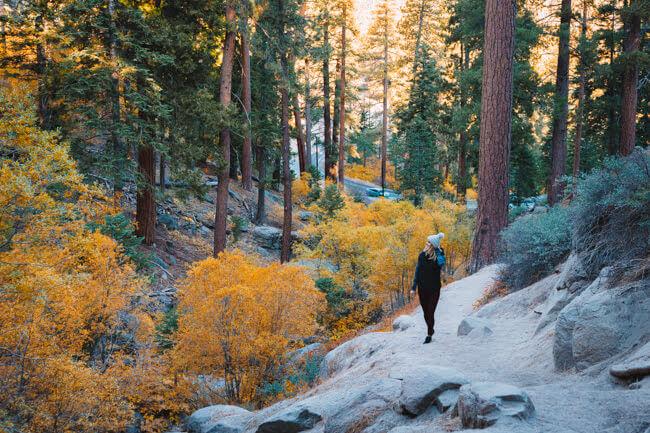 things to do big bear lake california fall colors