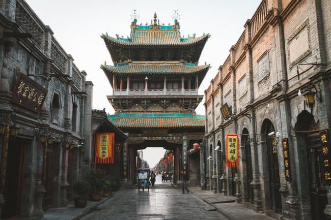 Pingyao Ancient City In China