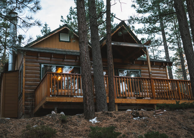 Airbnb cabins big bear