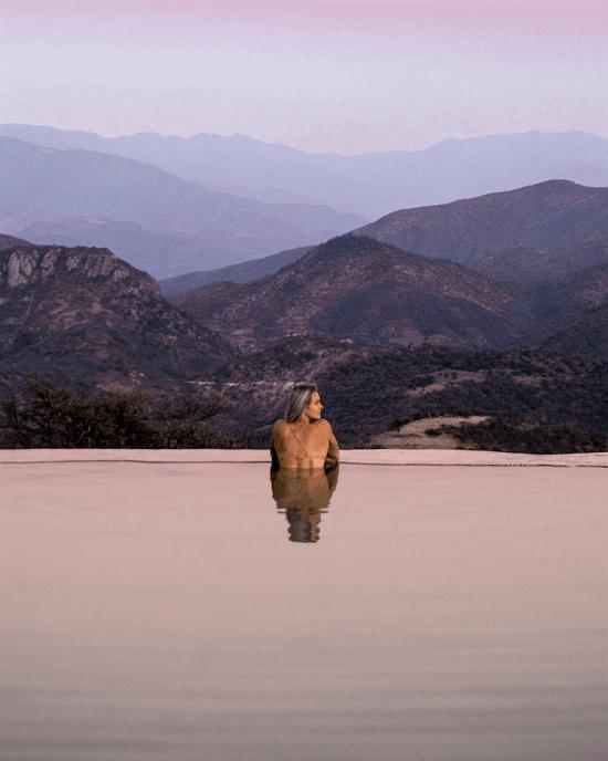 Oaxaca Hierve El Agua Mexico