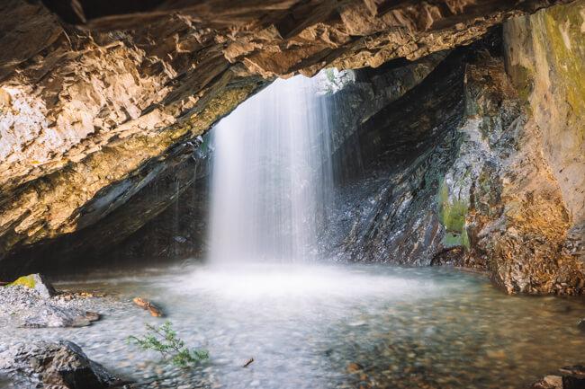 Donut Falls Trail Hike Utah
