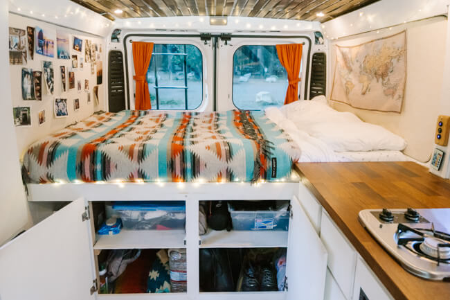 van life essentials packing list