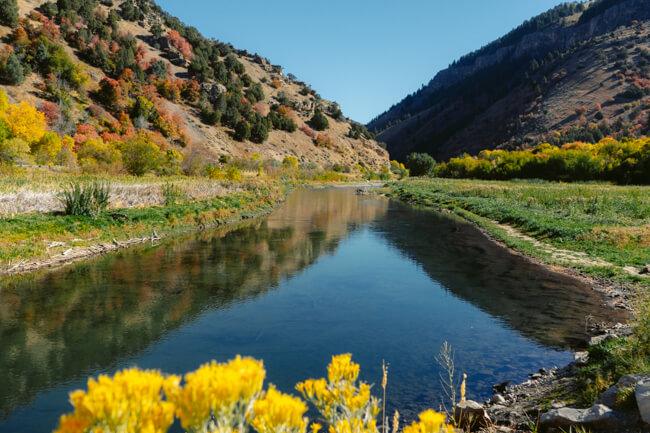 Logan Canyon Scenic Byway Utah