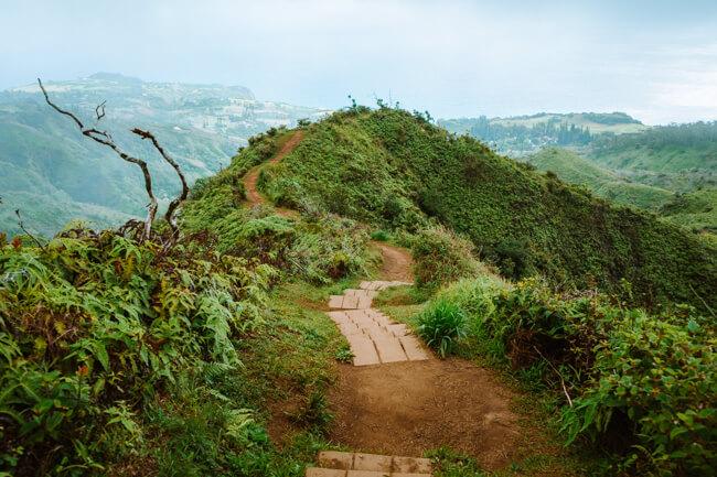 Waihe'e Ridge Trail Maui