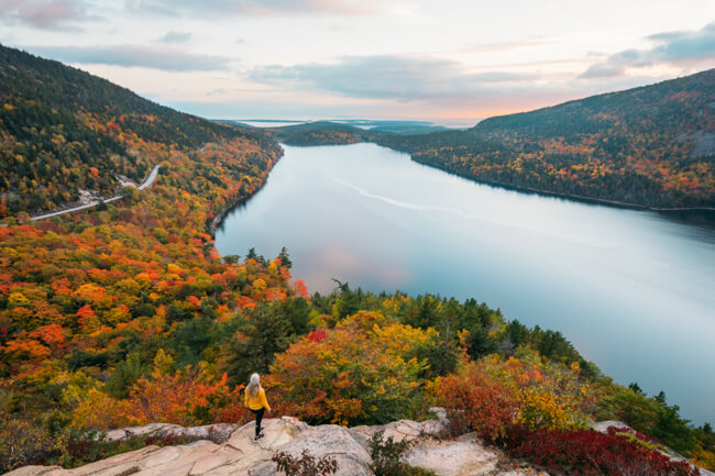 Acadia National Park In Fall